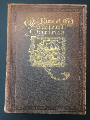 First Edition Book 1913, The Rime of the Ancient Mariner, Illustrated by Willy Pogany
